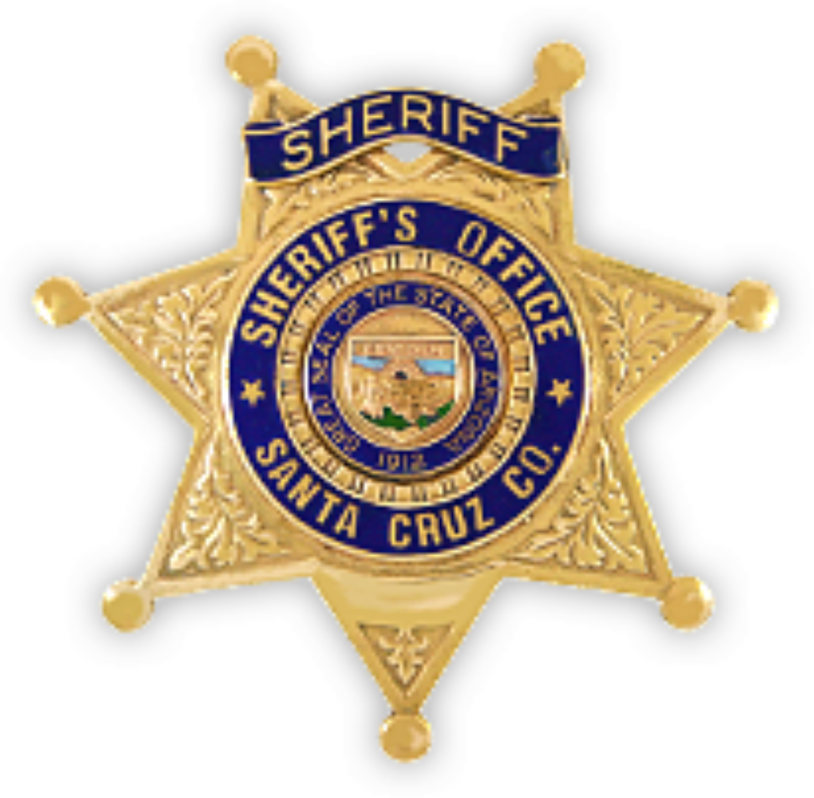 Santa Cruz County Badge