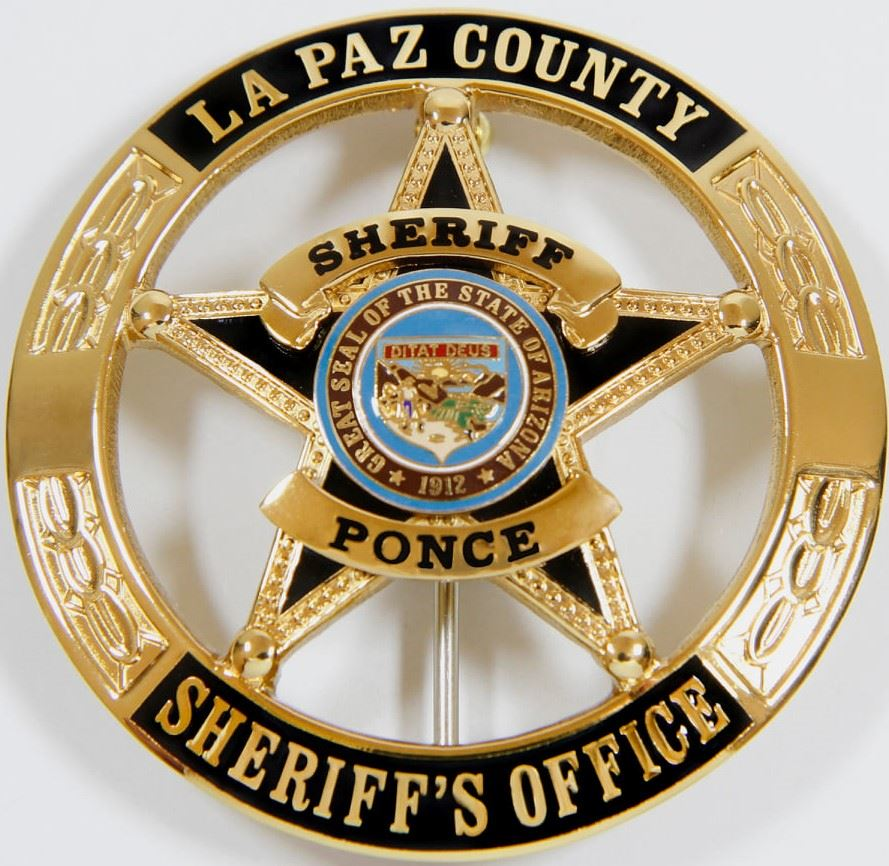 La Paz County Sheriffs Office Shield