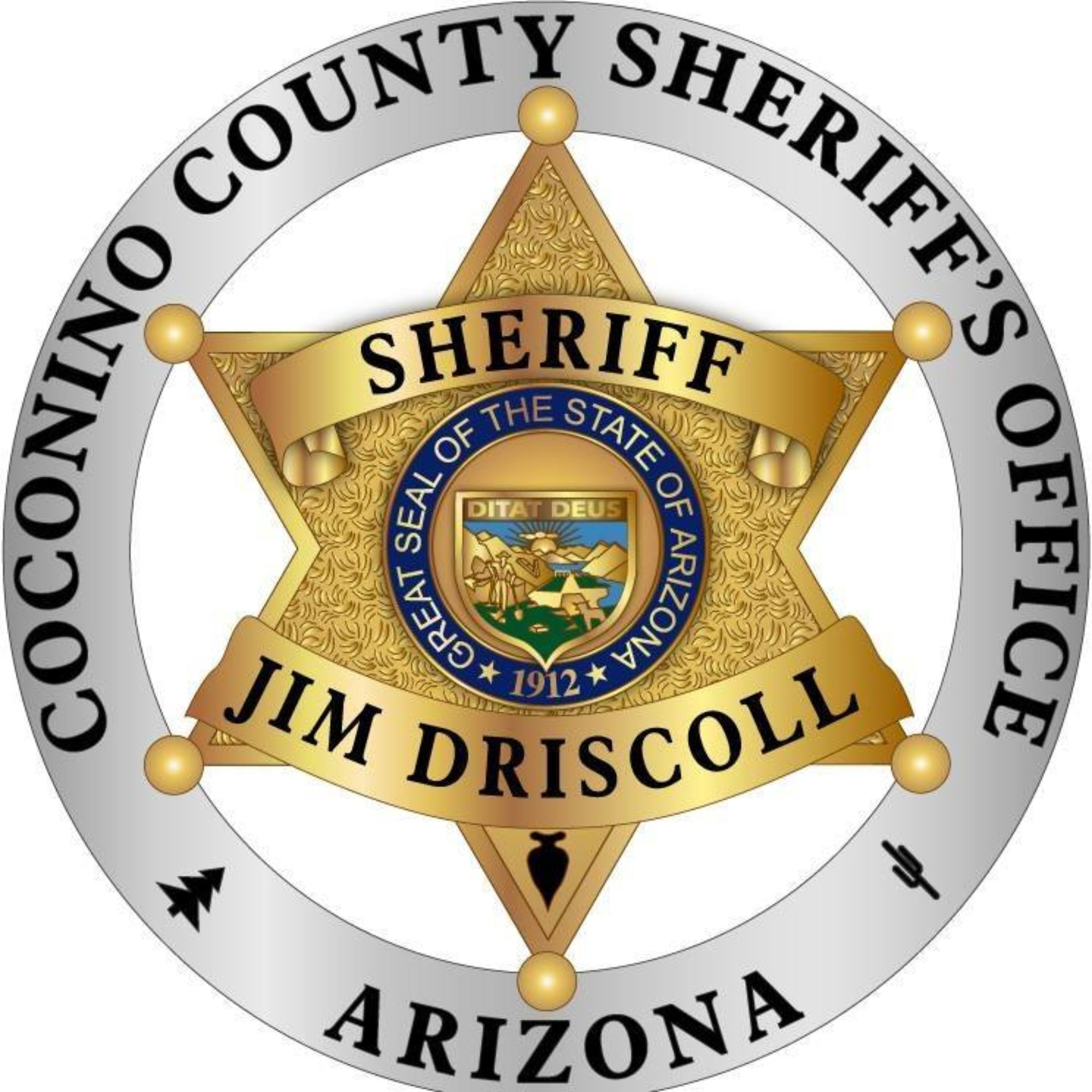 Coconino County Sheriff Badge
